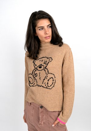 BEAR - Jumper - camel