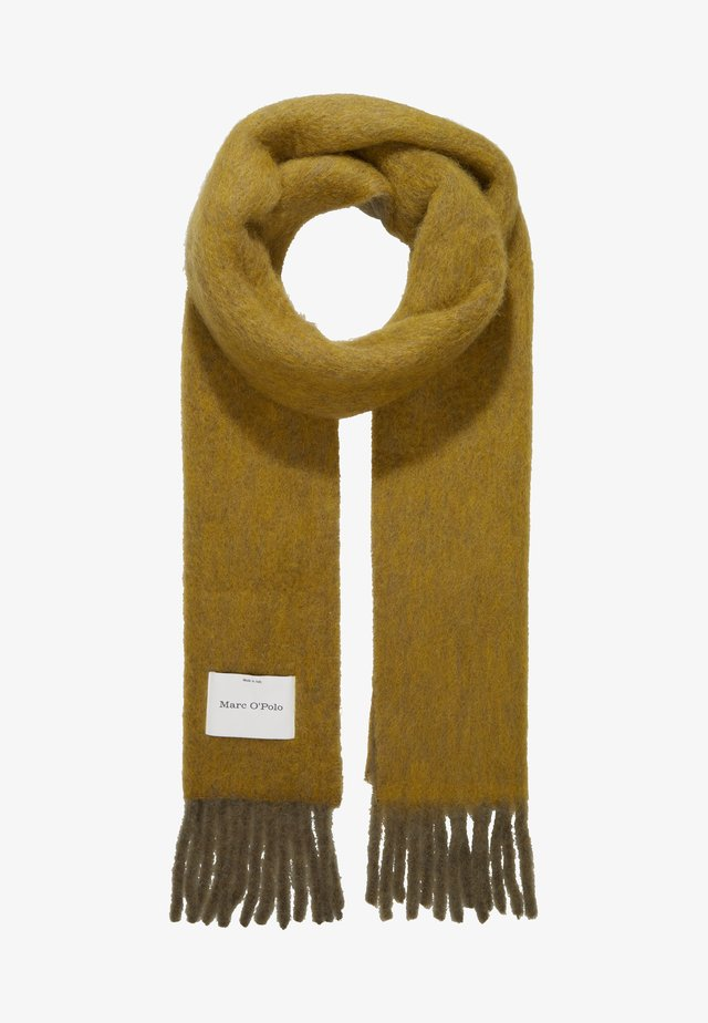 SCARF AIRY BRUSHED DOUBLE - Scarf - khaki