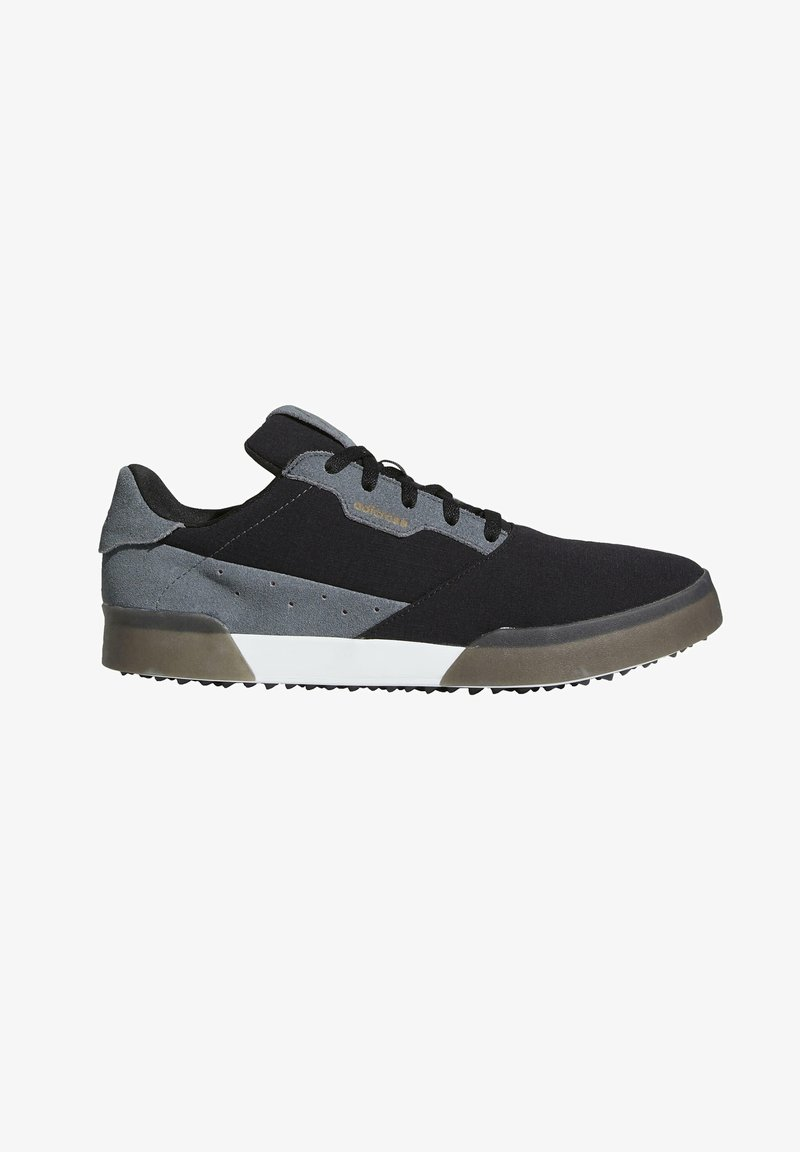 adidas Performance - ADICROSS RETRO SPIKELESS - Golf shoes - black