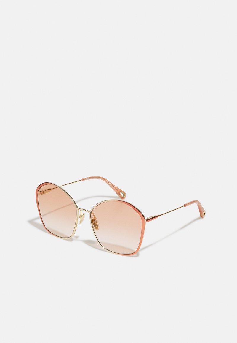 CHLOÉ - Sunglasses - nude/nude/orange