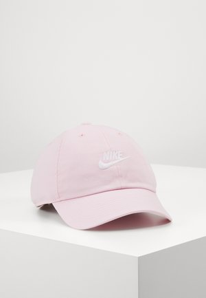 FUTURA WASHED - Cap - pink foam/white