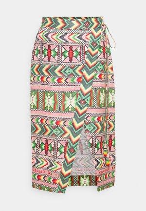 AMULET WRAP SKIRT - Wrap skirt - multi