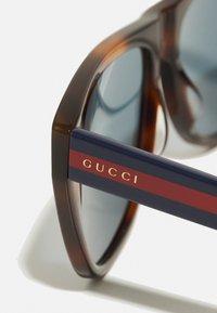 Gucci - UNISEX - Sluneční brýle - havana/blue - 3