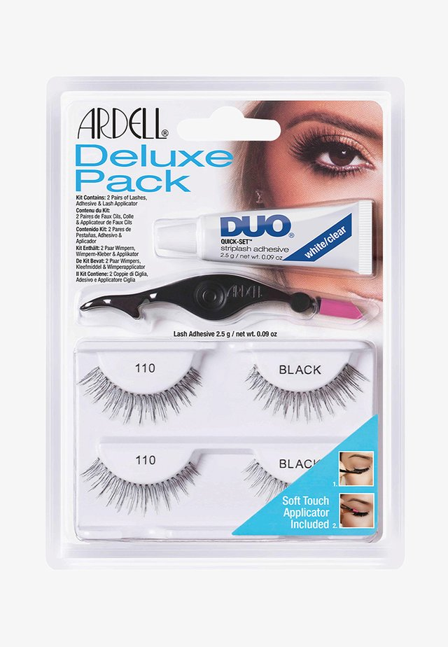 ARDELL DELUXE PACK 110 - False eyelashes - -