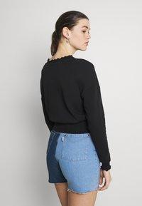 ONLY - ONLHAISLEY LIFE  - Sweatshirt - black - 2