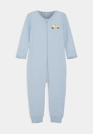 NBMNIGHTSUIT ZIP DUSTY - Pyžamo - dusty blue