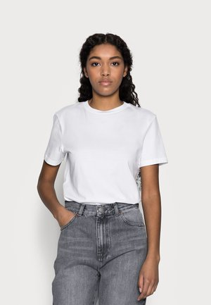 SLFMY PERFECT TEE BOX - Basic T-shirt - bright white