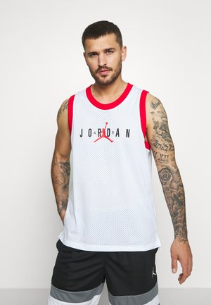 TANK - Toppe - white/university red/black