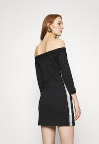 Calvin Klein Jeans - OFF THE SHOULDER MILANO DRESS - Shift dress - black - 2