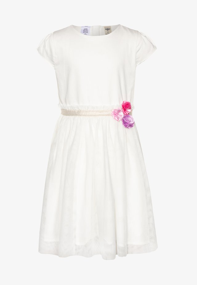 DRESSES - Vestido de cóctel - white