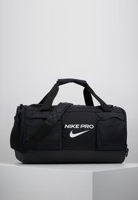 Nike Performance - POWER M DUFF PRO - Sports bag - black/white - 0