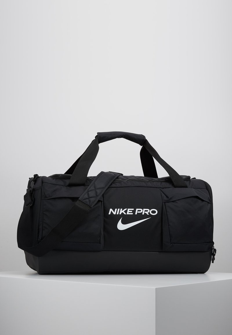 Nike Performance - POWER M DUFF PRO - Sports bag - black/white