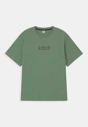 OVERSIZE 2 PACK - Print T-shirt - light green