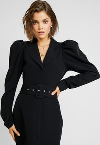 Nly by Nelly - VOLUME SLEEVE SUIT DRESS - Kjole - black - 6