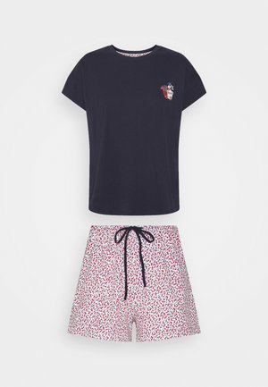 FLOWERS - Pyjamas - navy