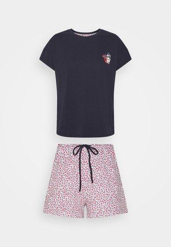 FLOWERS - Pyjama - navy
