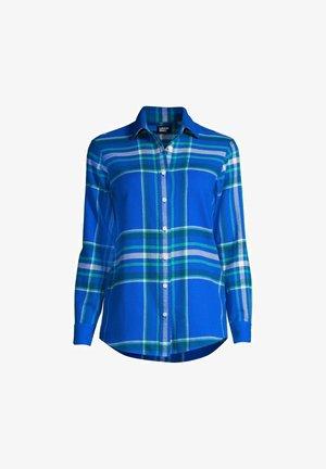 BEKLEIDUNG - Overhemdblouse - royal cobalt artisan plaid