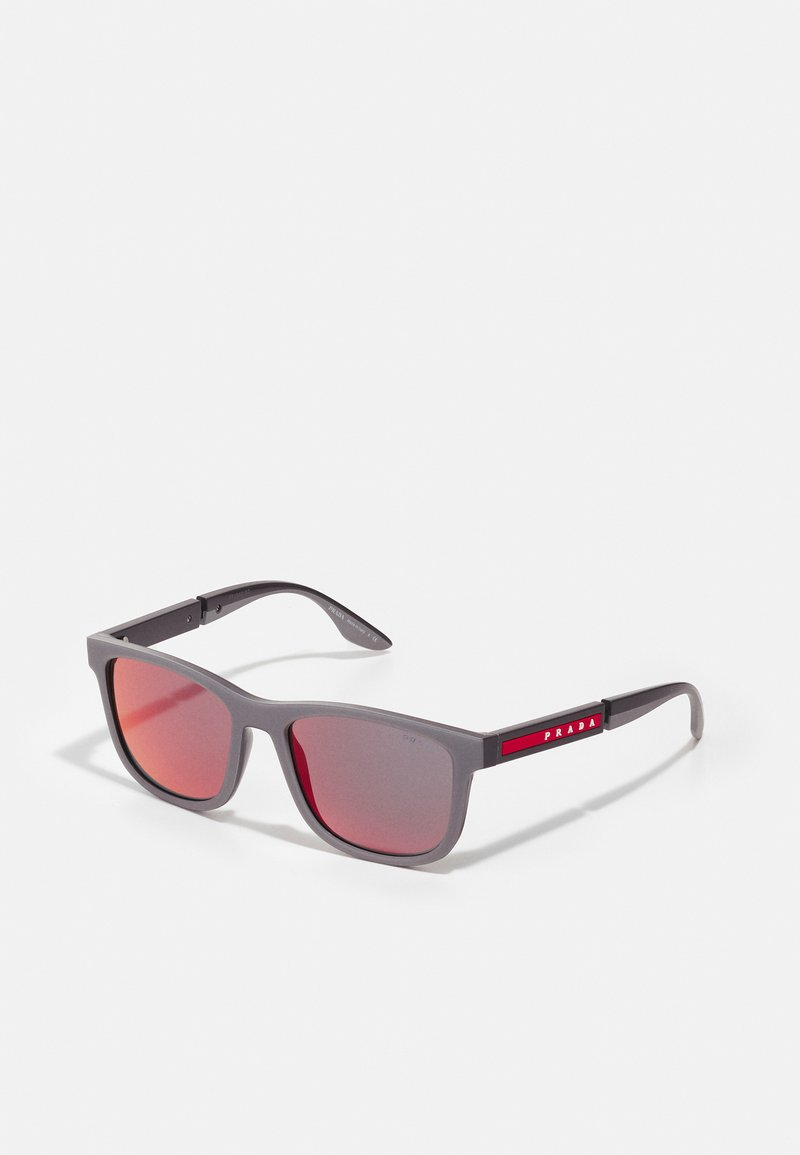 Prada Linea Rossa - Sunglasses - grey/dark grey
