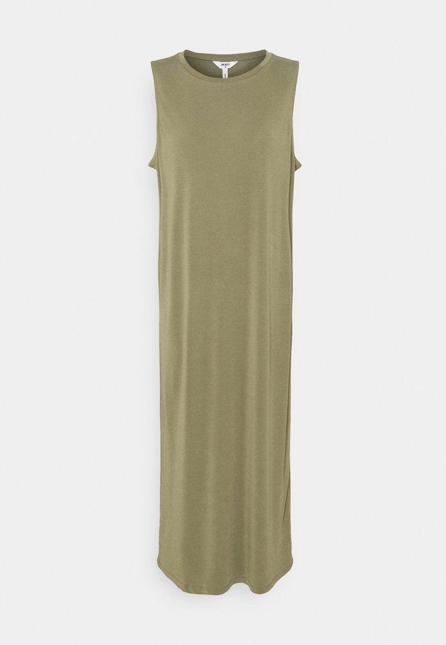 OBJANNIE DRESS - Day dress - deep lichen green