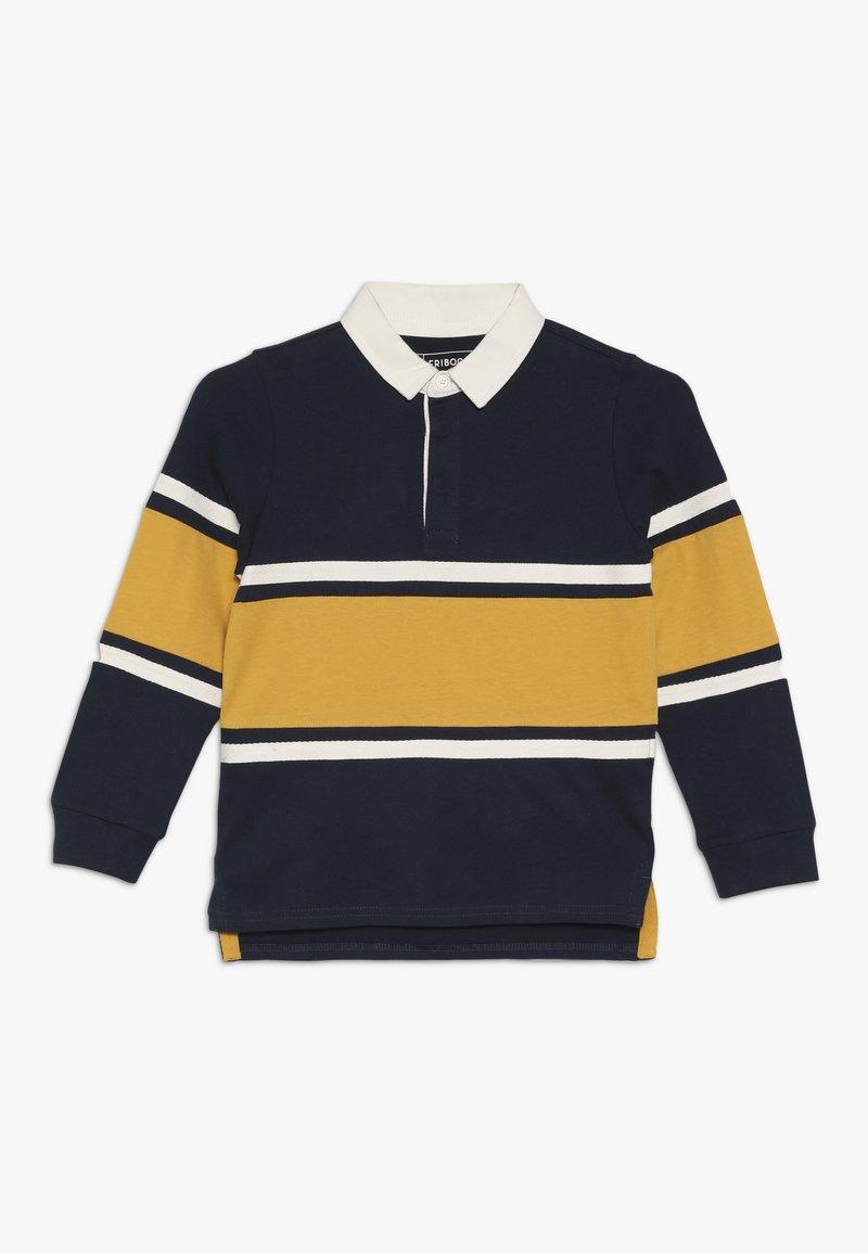 Friboo - Polo shirt - black iris/mineral yellow