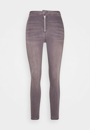 VICE HIGHWAISTED WITHZIP FLY - Jeans Skinny Fit - grey