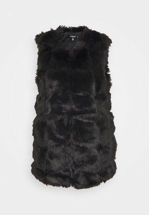 BUBBLE GILET - Waistcoat - black