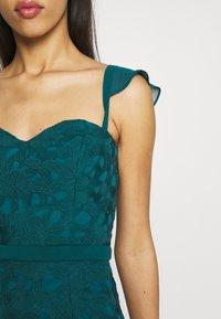 Chi Chi London - LUPITA DRESS - Suknia balowa - teal - 5