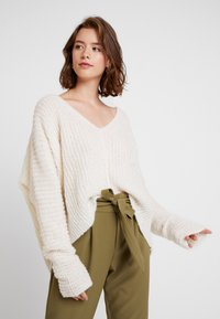 Free People - MOONBEAM - Svetr - ivory - 3