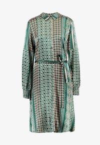 FADIA DRESS - Skjortekjole - pine grove