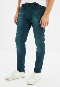 Trendyol - Jean slim - navy blue - 0