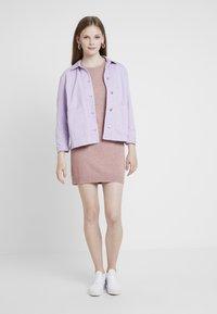 JDY - JDYMARCO DRESS - Strikket kjole - polignac/melange - 1