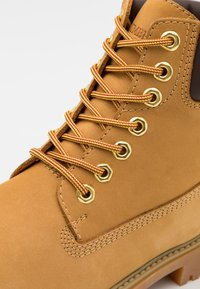 Lumberjack - RIVER - Lace-up ankle boots - yellow/dark brown - 5