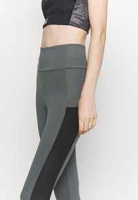adidas Performance - Collants - grey/black/white - 5