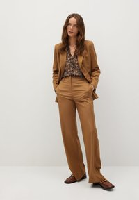 Mango - CHICAGO - Button-down blouse - braun - 1
