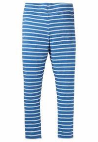 Boden - MIT APPLIKATION - Leggings - Trousers - elisabethanisches blau/naturweiß, blumenmuster - 1