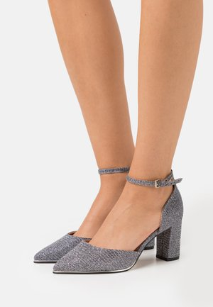 WIDE FIT EVOKE - Tacones - silver