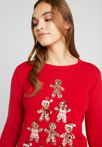 Fashion Union - CHRISTMAS GINGER BREAD TREE - Jumper - red - 3