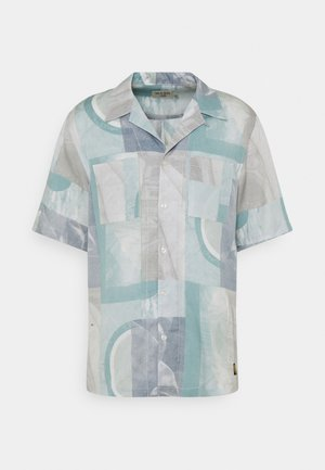 CALUMN - Camicia - light blue/white