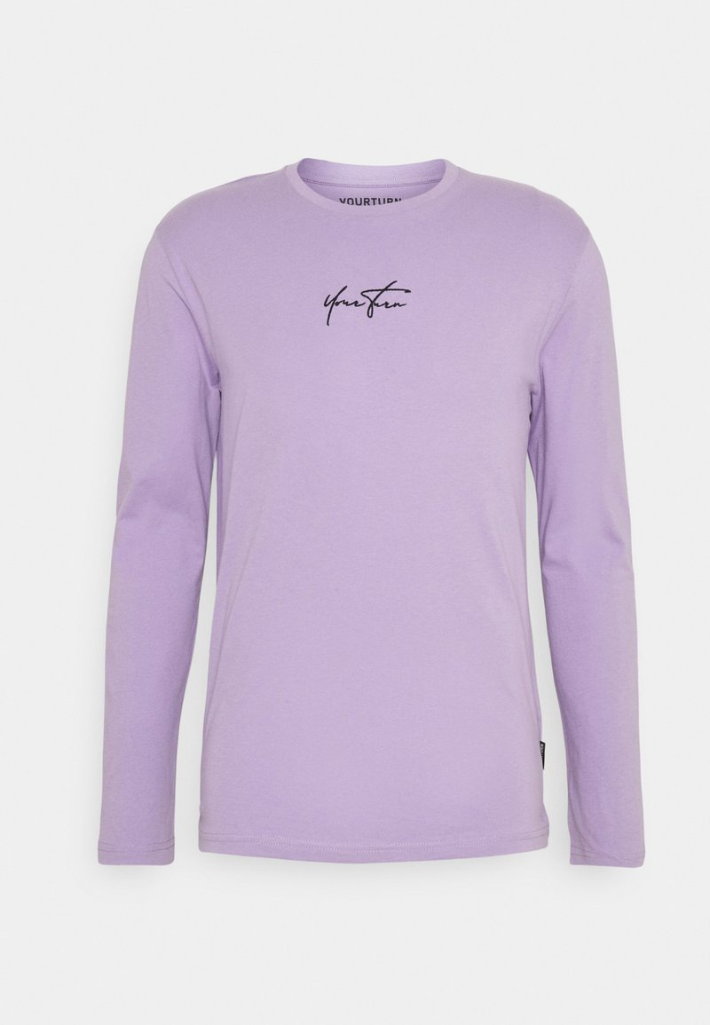 YOURTURN - UNISEX - Maglietta a manica lunga - lilac