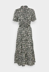 Anna Field - WOVEN BLOUSE DRESS - Sukienka koszulowa - black/white - 3