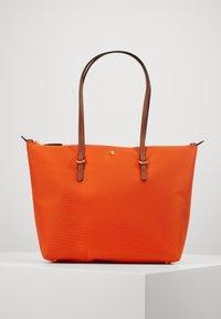 Lauren Ralph Lauren - KEATON TOTE-SMALL - Handtas - sailing orange - 0