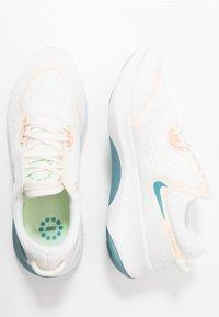 Nike Performance - JOYRIDE DUAL RUN - Neutral running shoes - sail/shimmer/pale ivory/cerulean/barely volt/pink quartz - 1