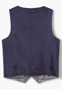 s.Oliver - Waistcoat - dark blue melange - 2