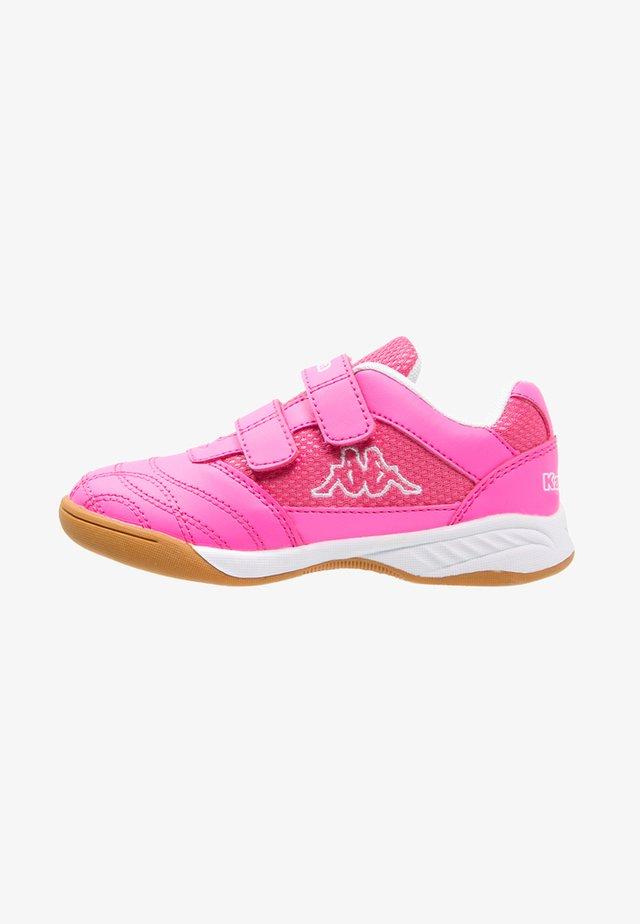 KICKOFF  - Obuwie treningowe - pink/white