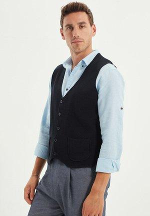 Waistcoat - navy blue