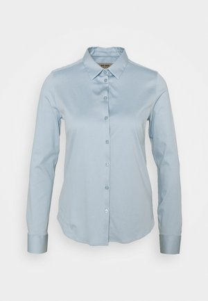 TINA - Button-down blouse - celestical blue