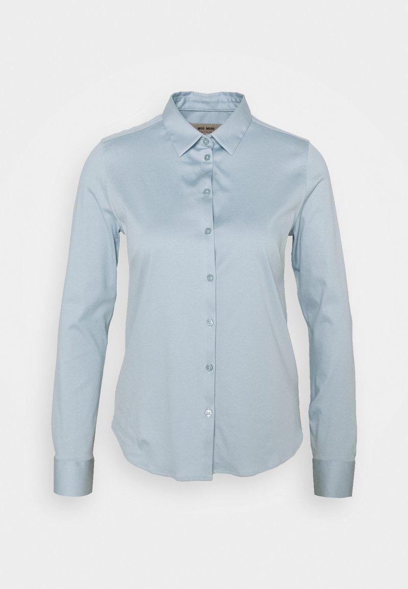 Mos Mosh - TINA - Button-down blouse - celestical blue