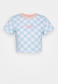 The Ragged Priest - FLOCK TEE - Print T-shirt - blue/white - 3