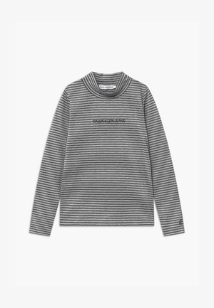 STRIPED - Longsleeve - black