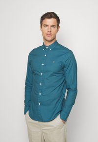 Farah - BREWER - Shirt - blue - 0